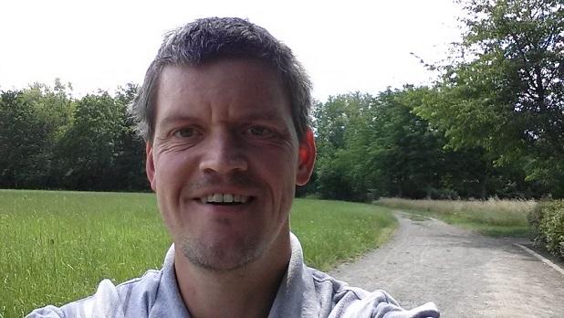 Michael S. Spaziergang im Erholungspark Loessnig-Doelitz